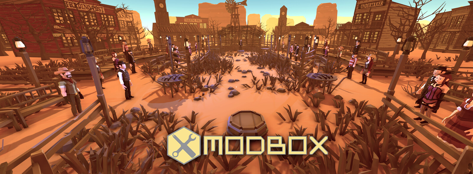 Modbox: Pistol Duel Arena