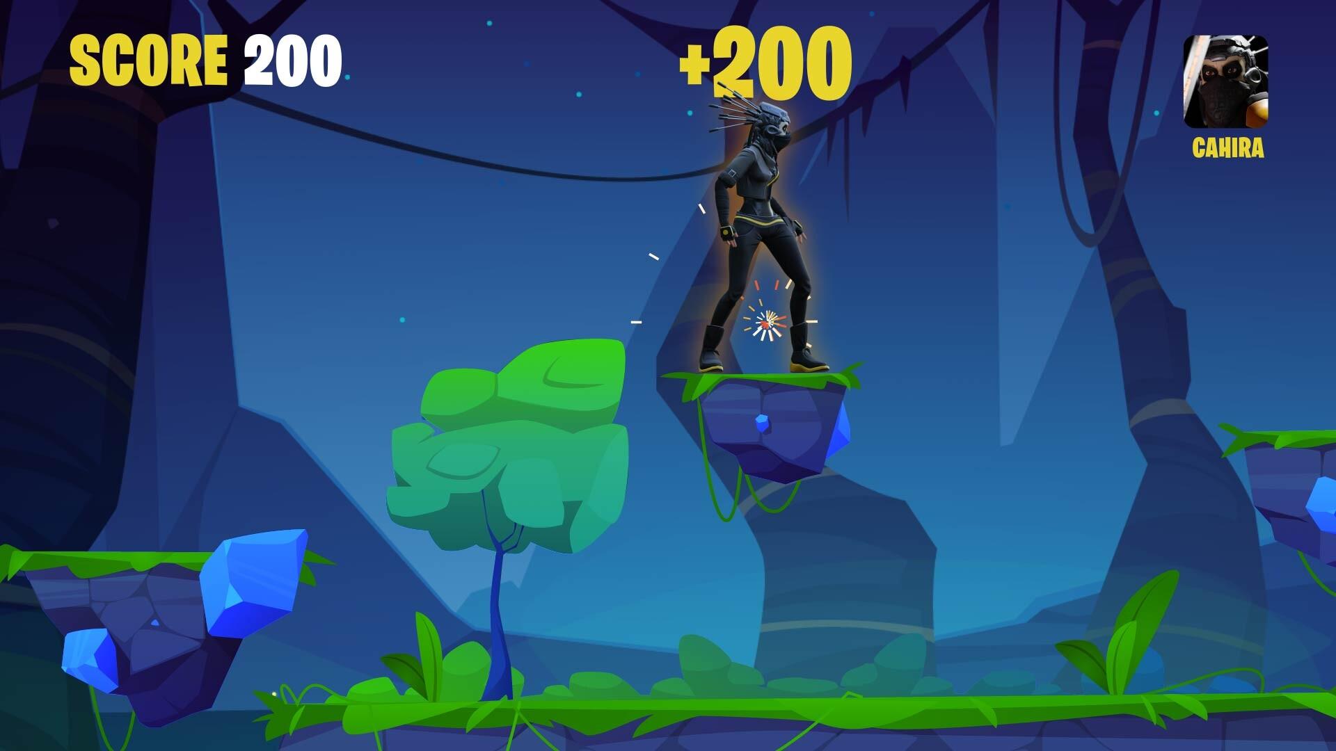 CAHIRA - Platformer Game - Mock-up