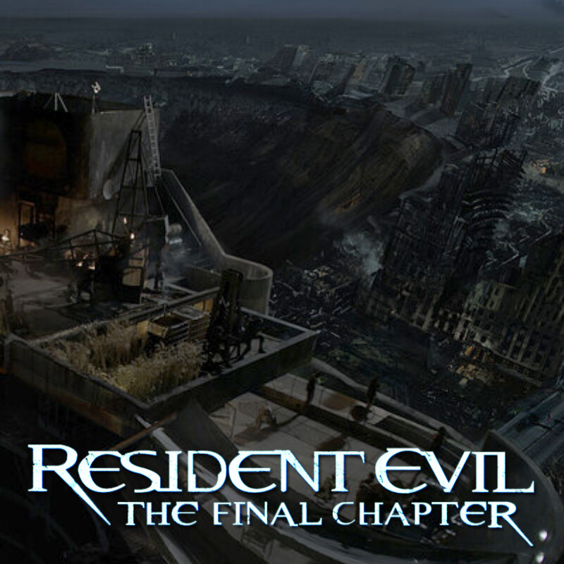 Resident Evil: the Final Chapter film concept art