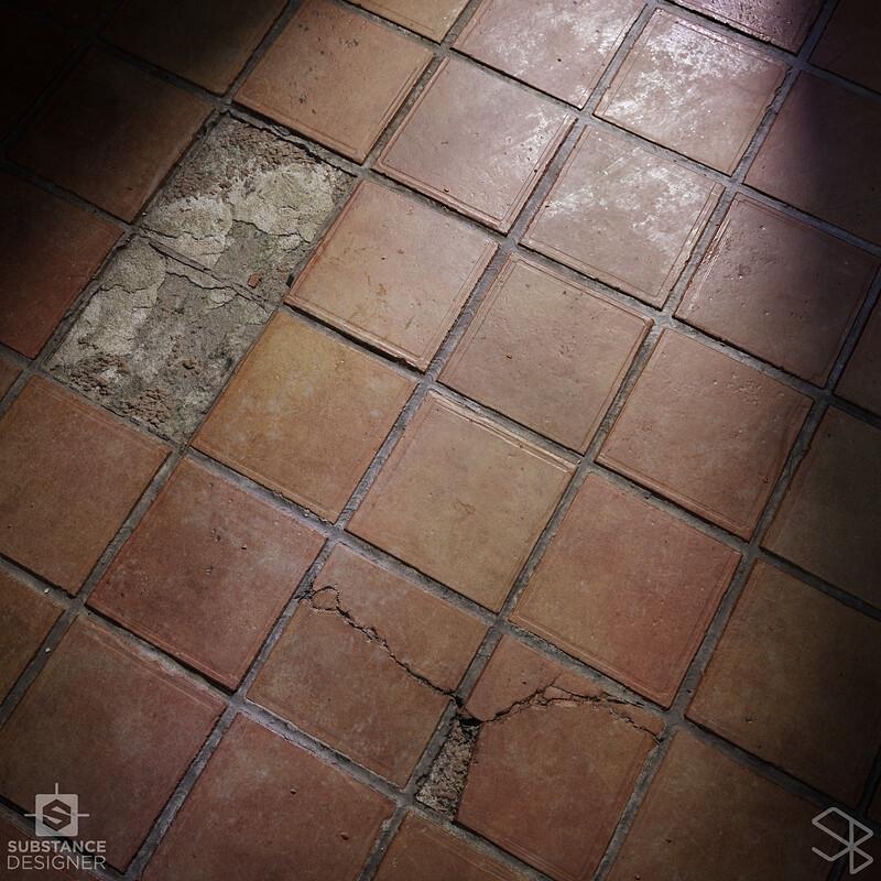 Terracotta Tiles - Substance Designer