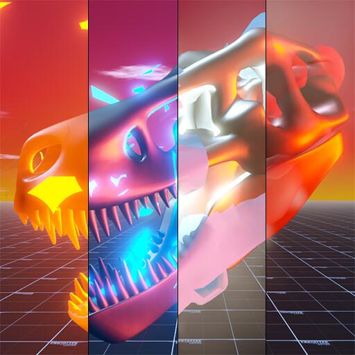 Multi-Status-Effect VFX for Unity URP
