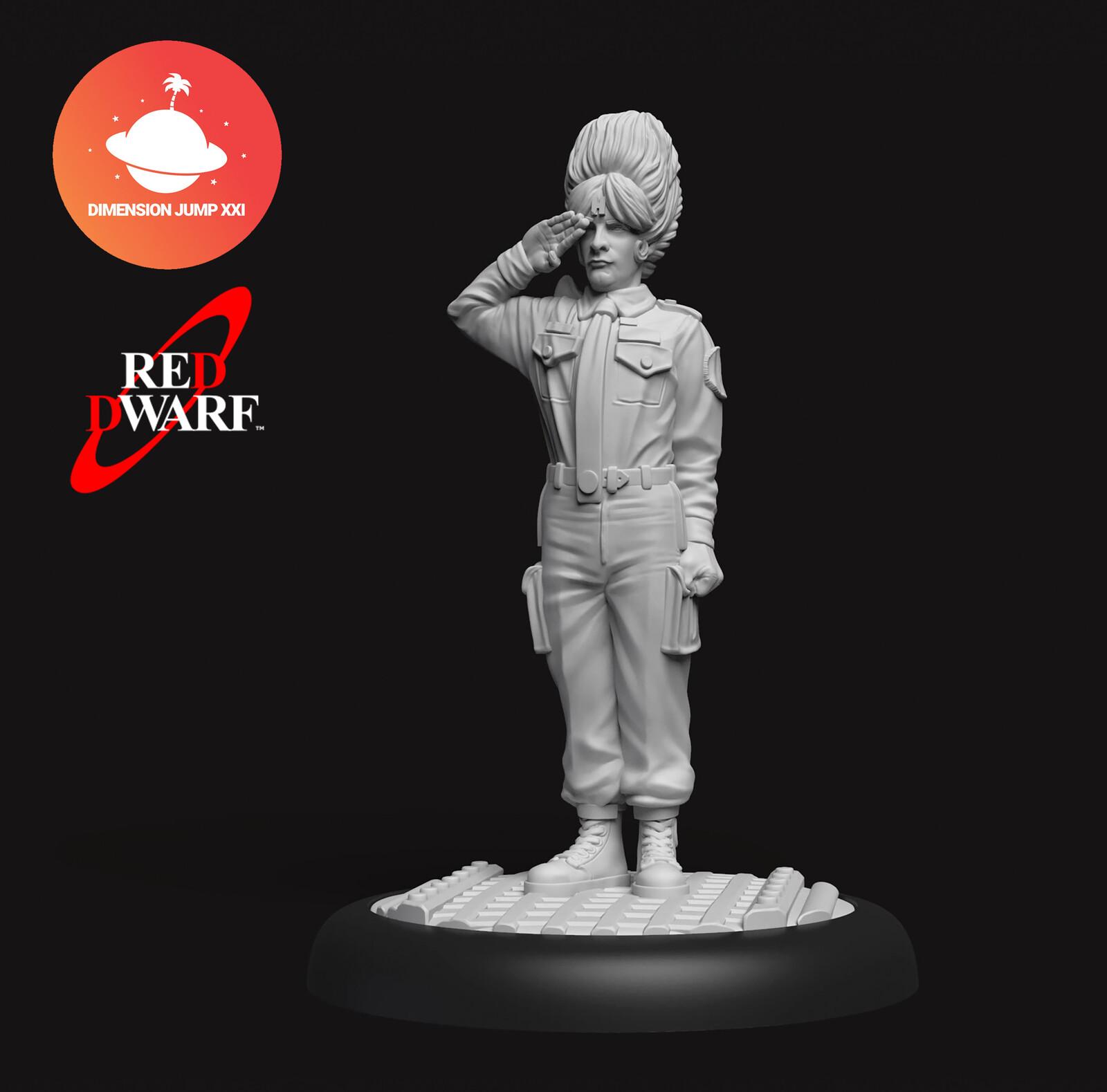 Red Dwarf DJXXI Minis - Rimmer