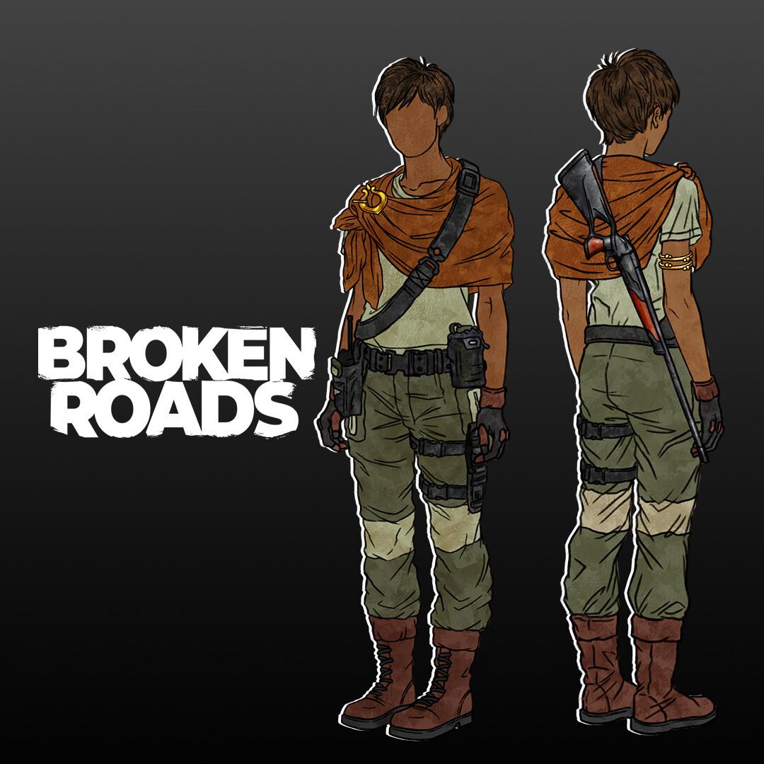 Scouts character designs - Broken Roads