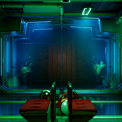 Beyond Extent Lighting Challenge - Sci-Fi Hallway Relight