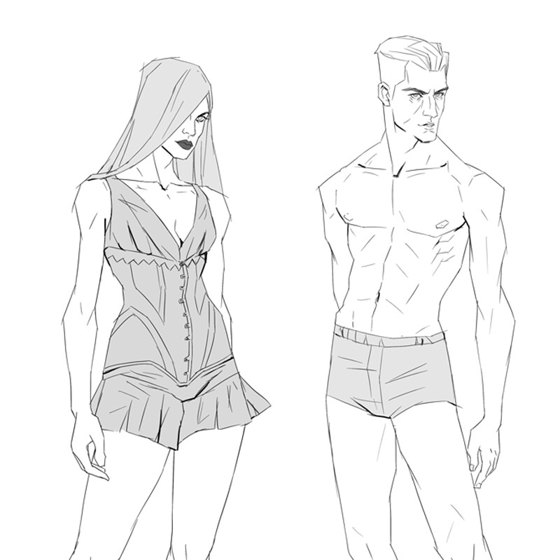 Misc character sketches