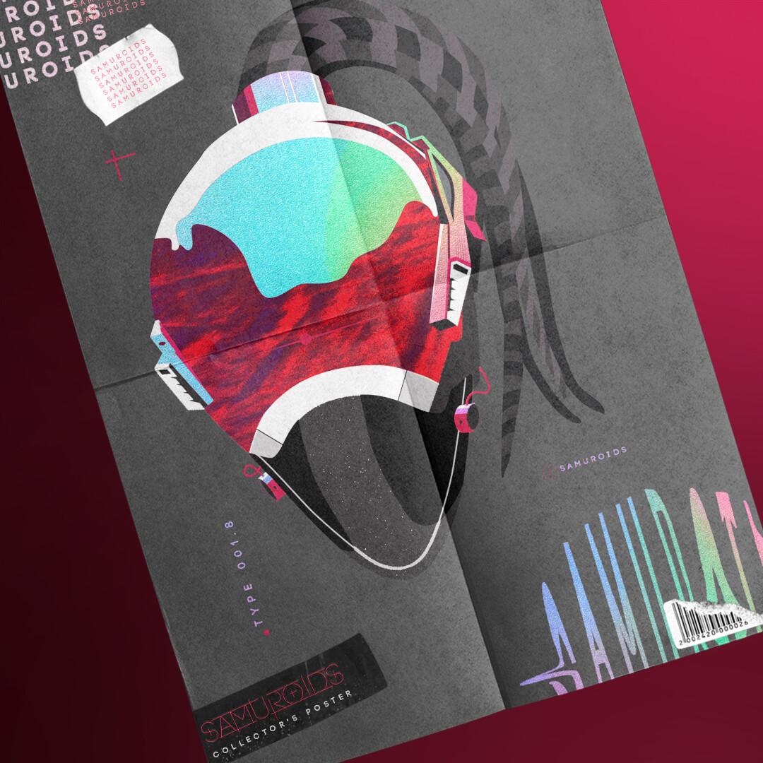 The Samuroids // Illustration / Logo / Poster / Merch Design