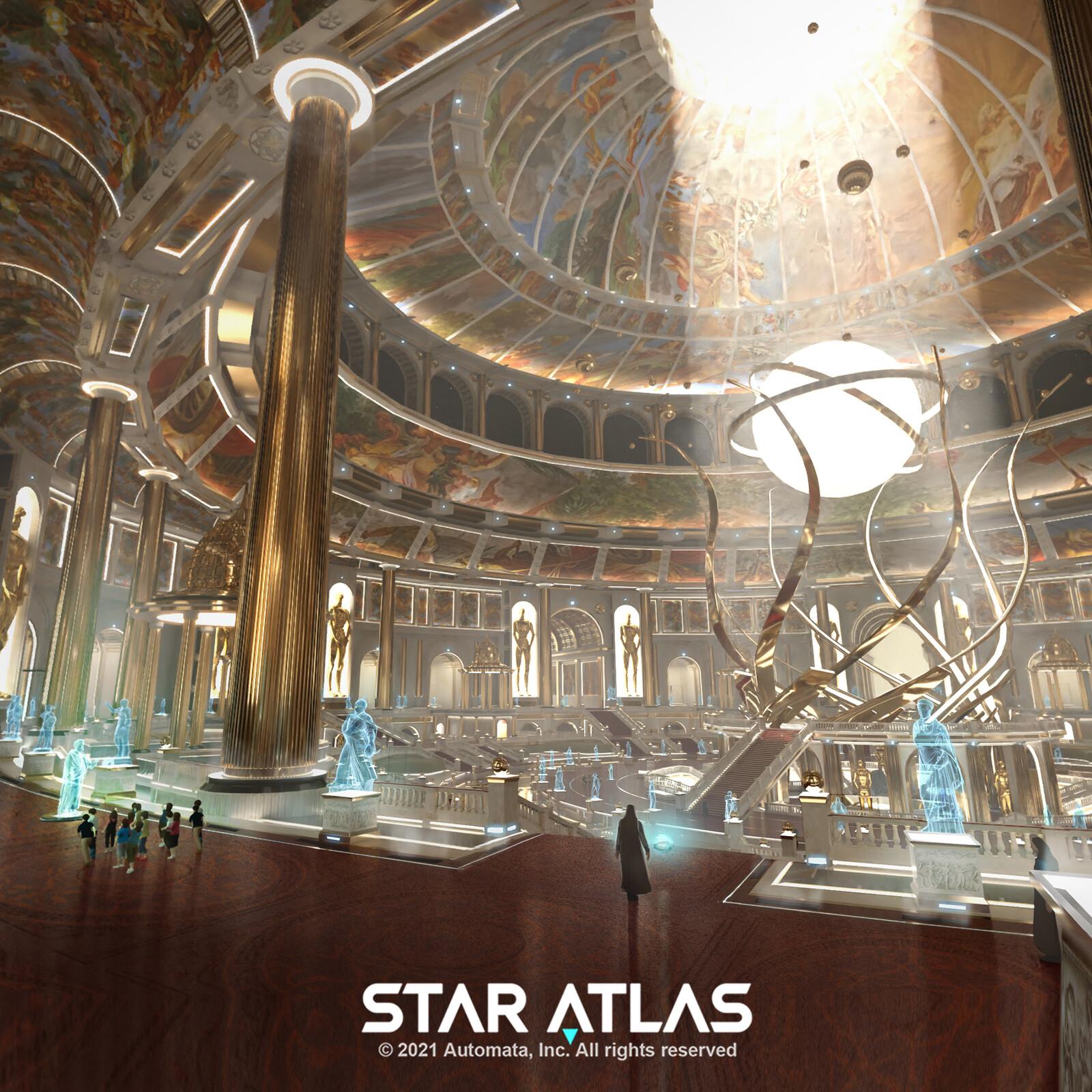 Star Atlas: Hall of Memories