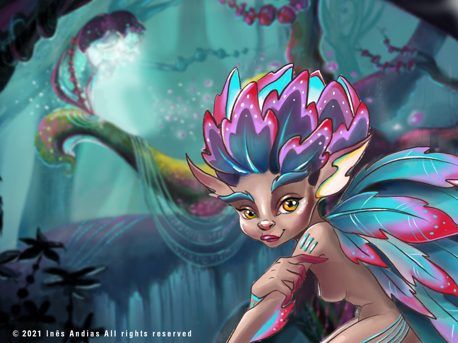 Pixie Leaf and the Sound of Silence: Vis Dev Project