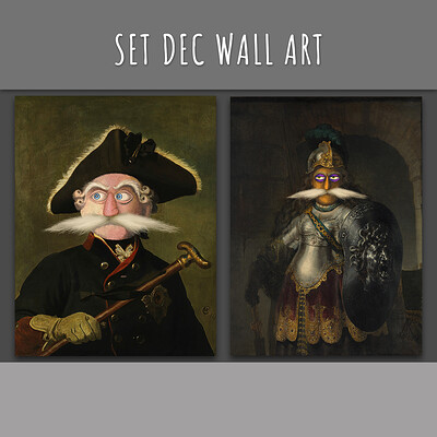 Set Dec Wall Art