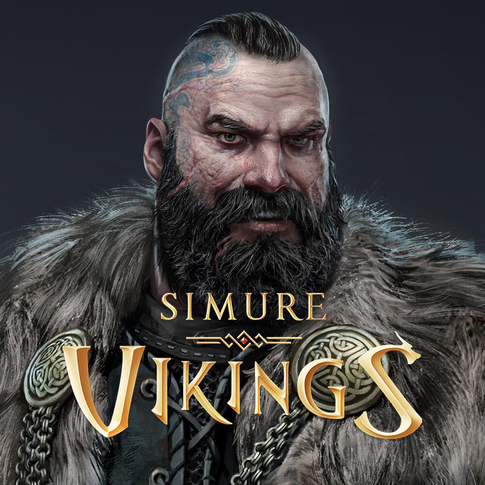Characters for Simure Vikings game