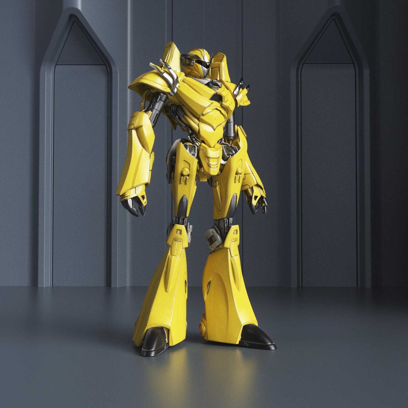My Robot 2 sculpture