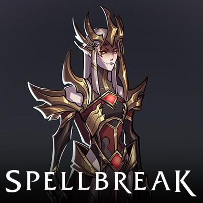 Spellbreak - Lady of Shadowgrace