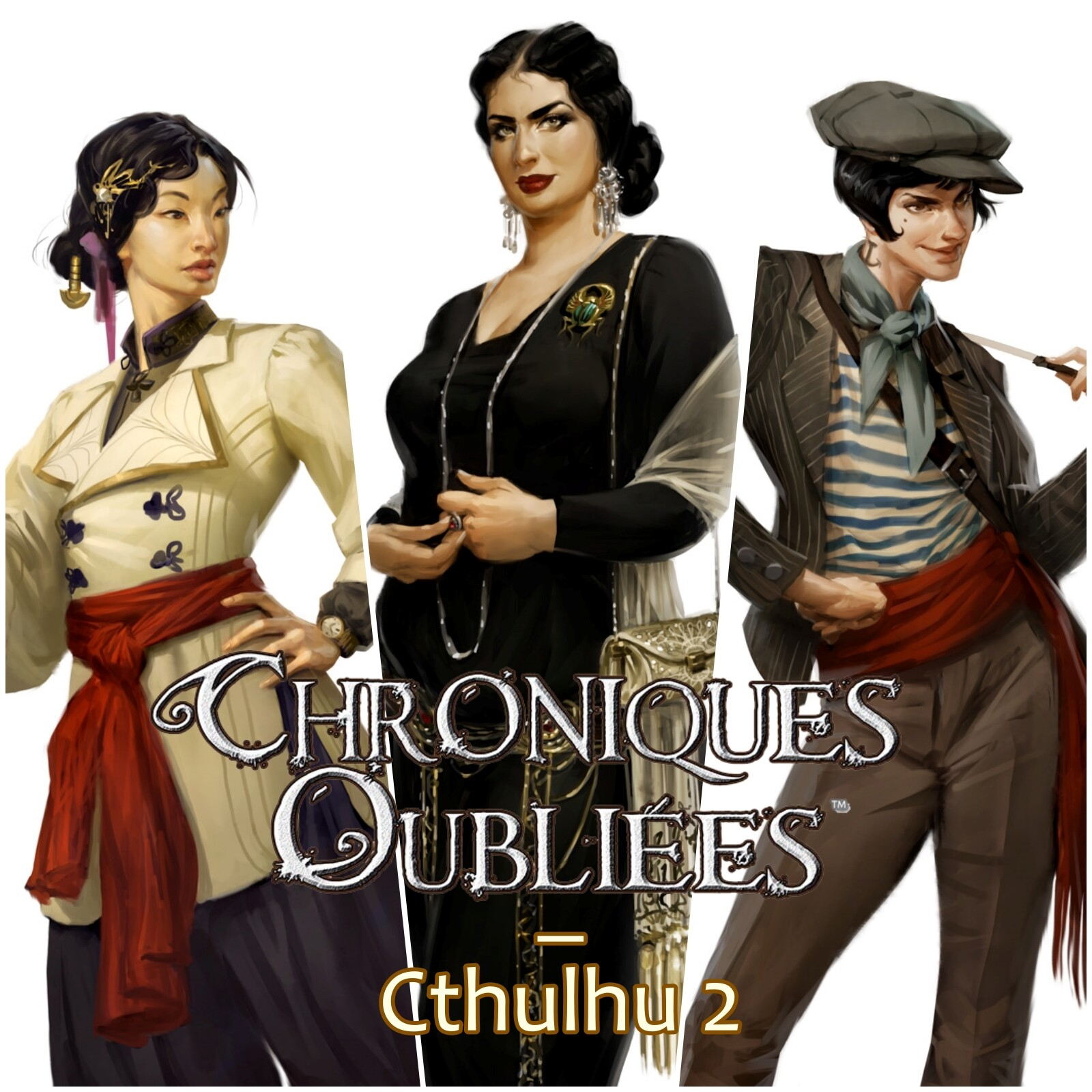 Chroniques Oubliées: Cthulhu 2 - Characters