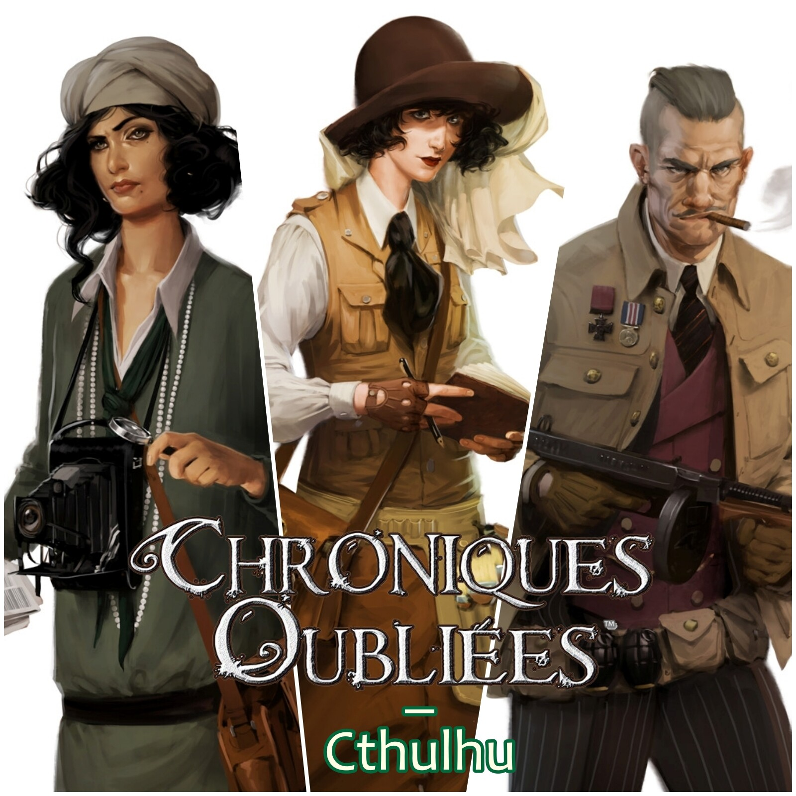 Chroniques Oubliées: Cthulhu - Characters