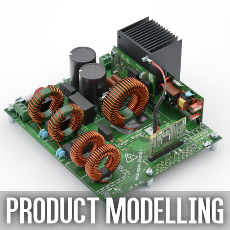 Various Product Modelling & Visualization projects