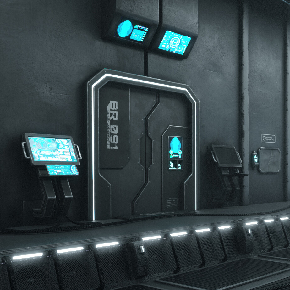 Sci-Fi game assets