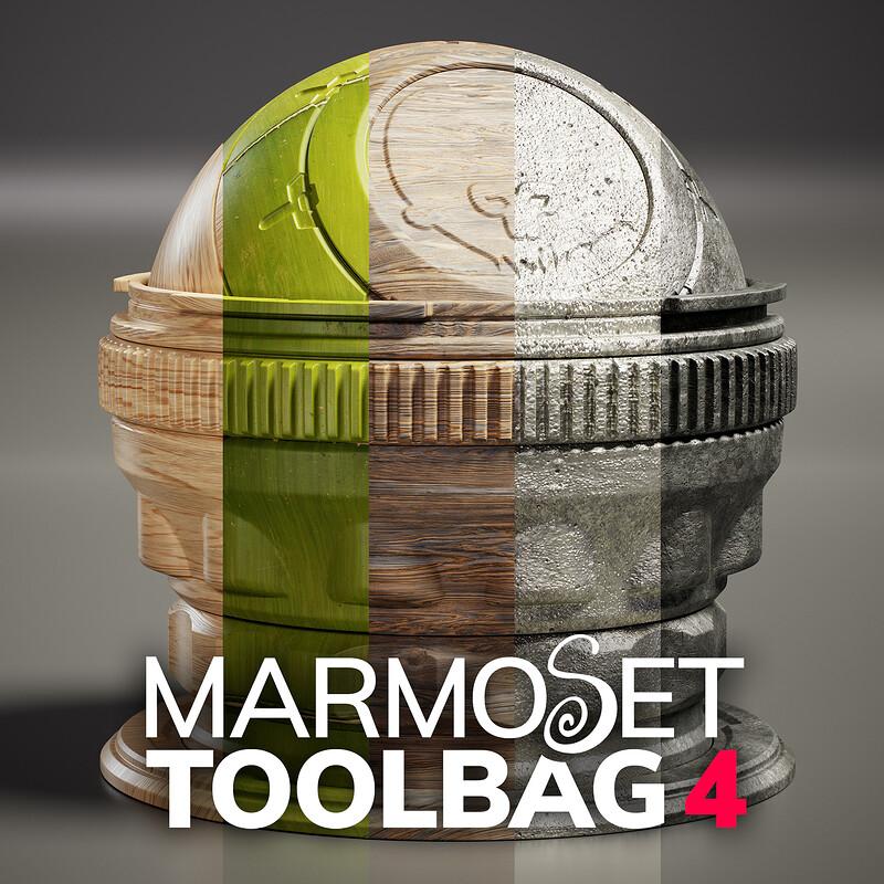 Toolbag 4 Materials - Library Drop 02, Part 1