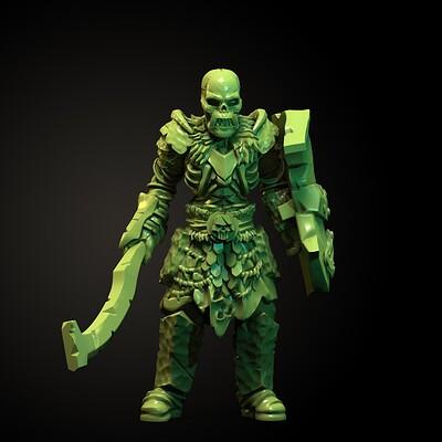 Gorbaz - Undead Orc Miniature
