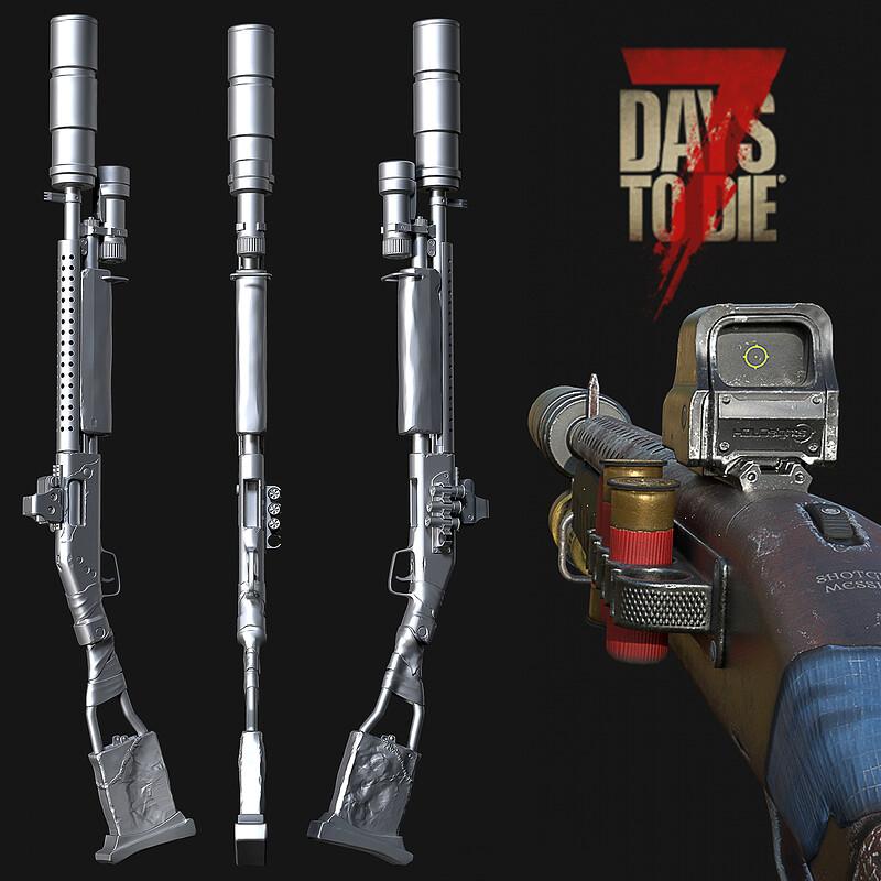 7 Days to Die : Pump Shotgun
