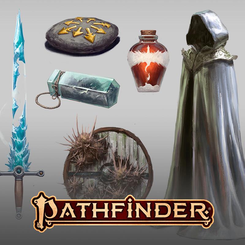 Pathfinder - Secrets of Magic Prop Illustrations