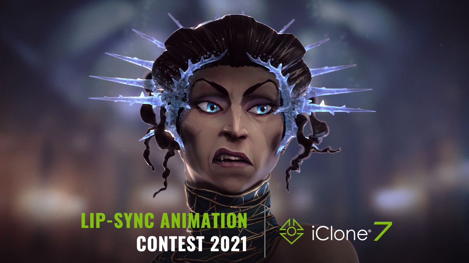2021 iClone Lip-Sync Animation Contest - Ice Queen