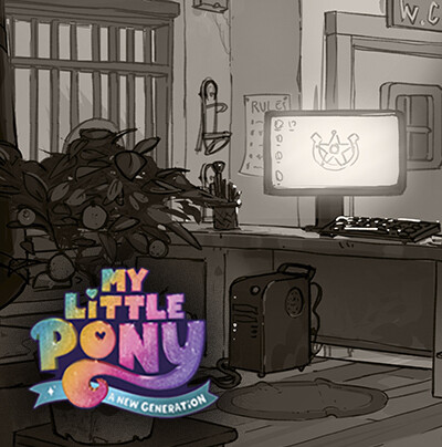 MLP: A New Generation - Sheriff Station