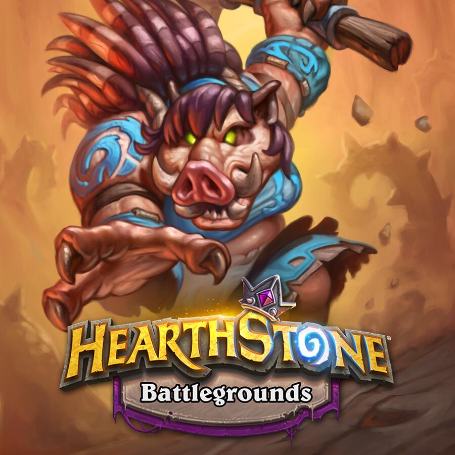 Hearthstone: Battlegrounds - Captain Flat Tusk
