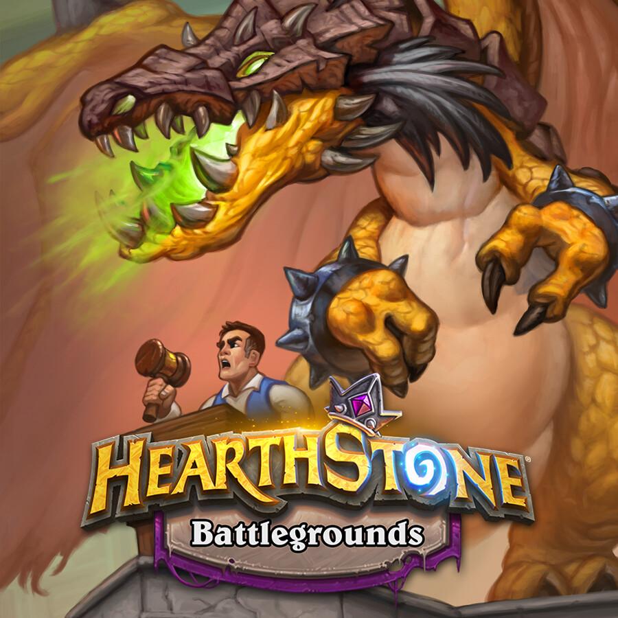 Hearthstone: Battlegrounds - Prized Promo-Drake