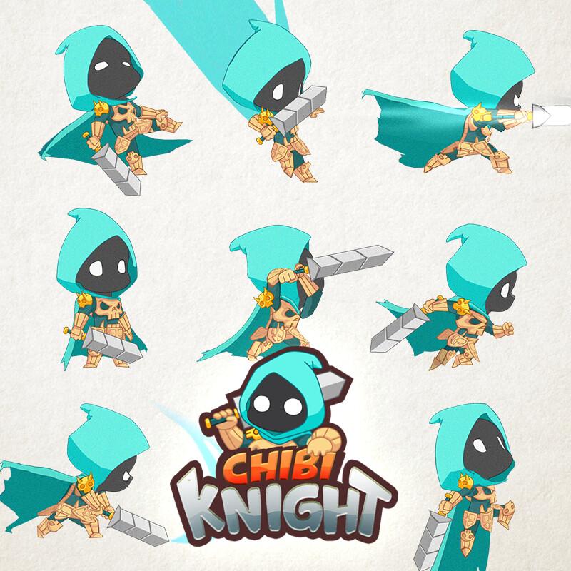 CHIBI KNIGHT ANIMATION