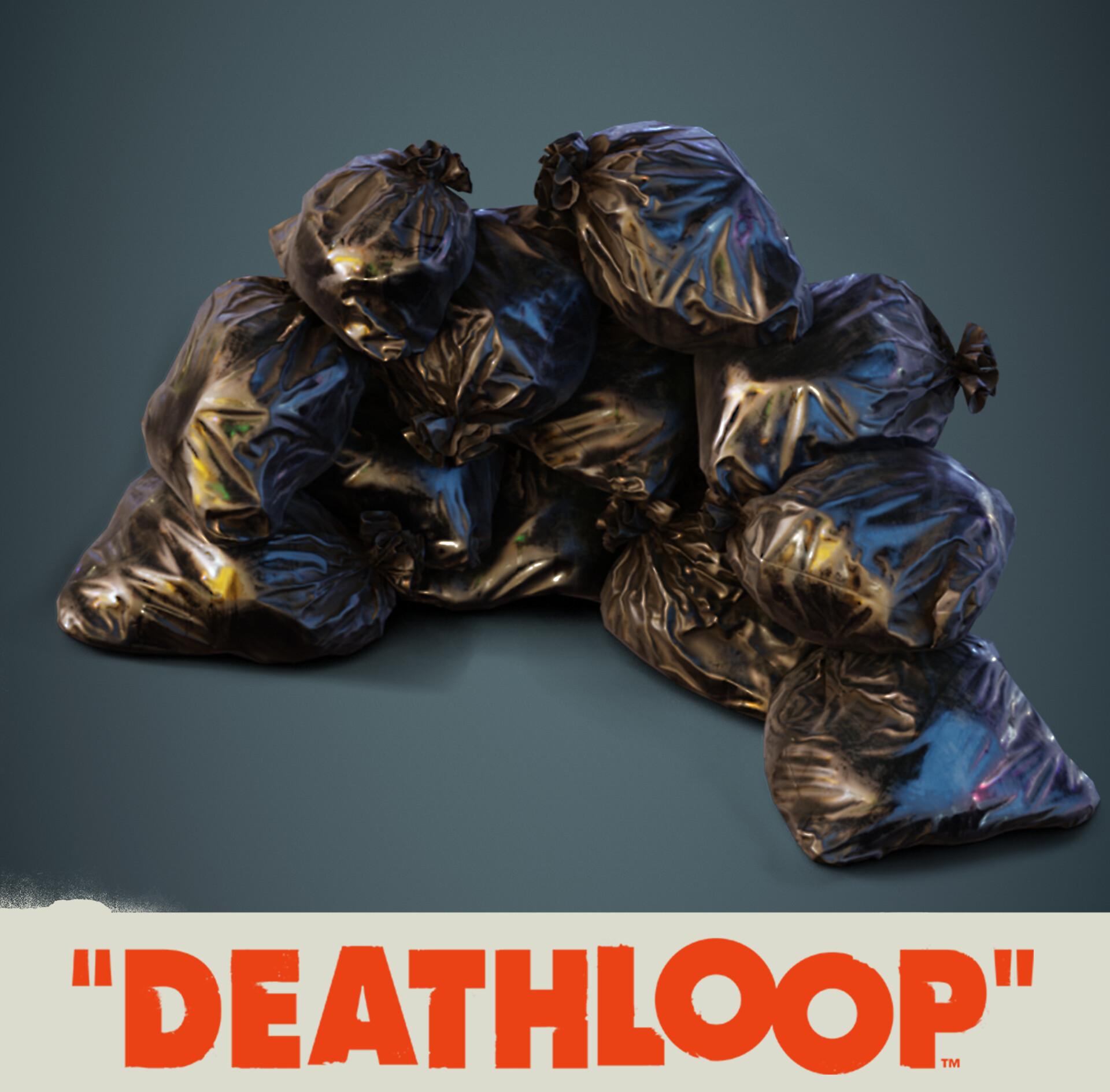 Garbage Bags: Deathloop Props