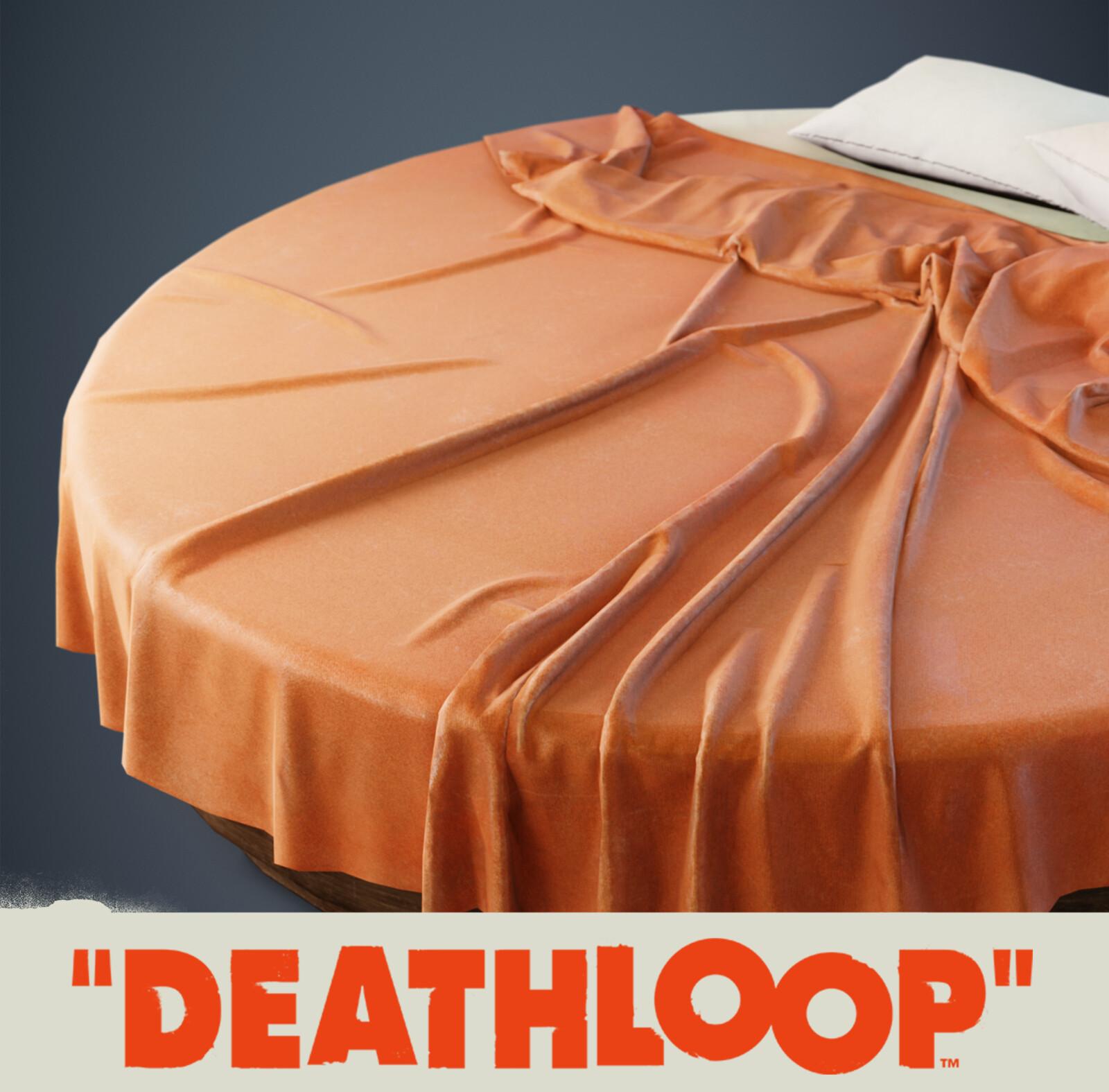 Round Bed: Deathloop Prop