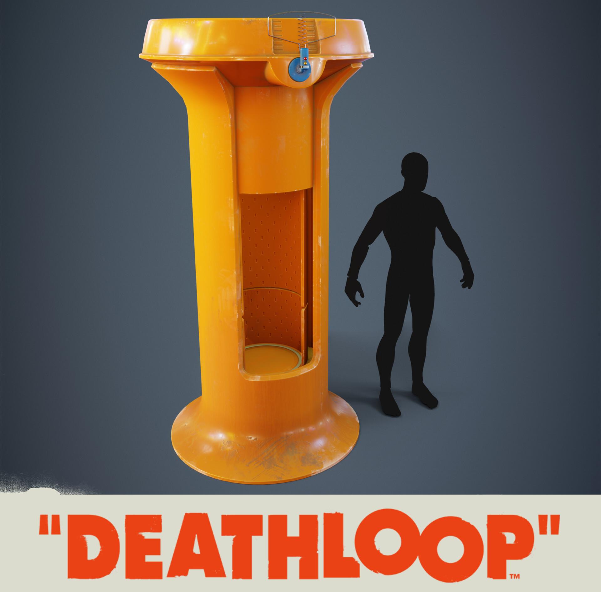 Weapon Cabinet: Deathloop Prop