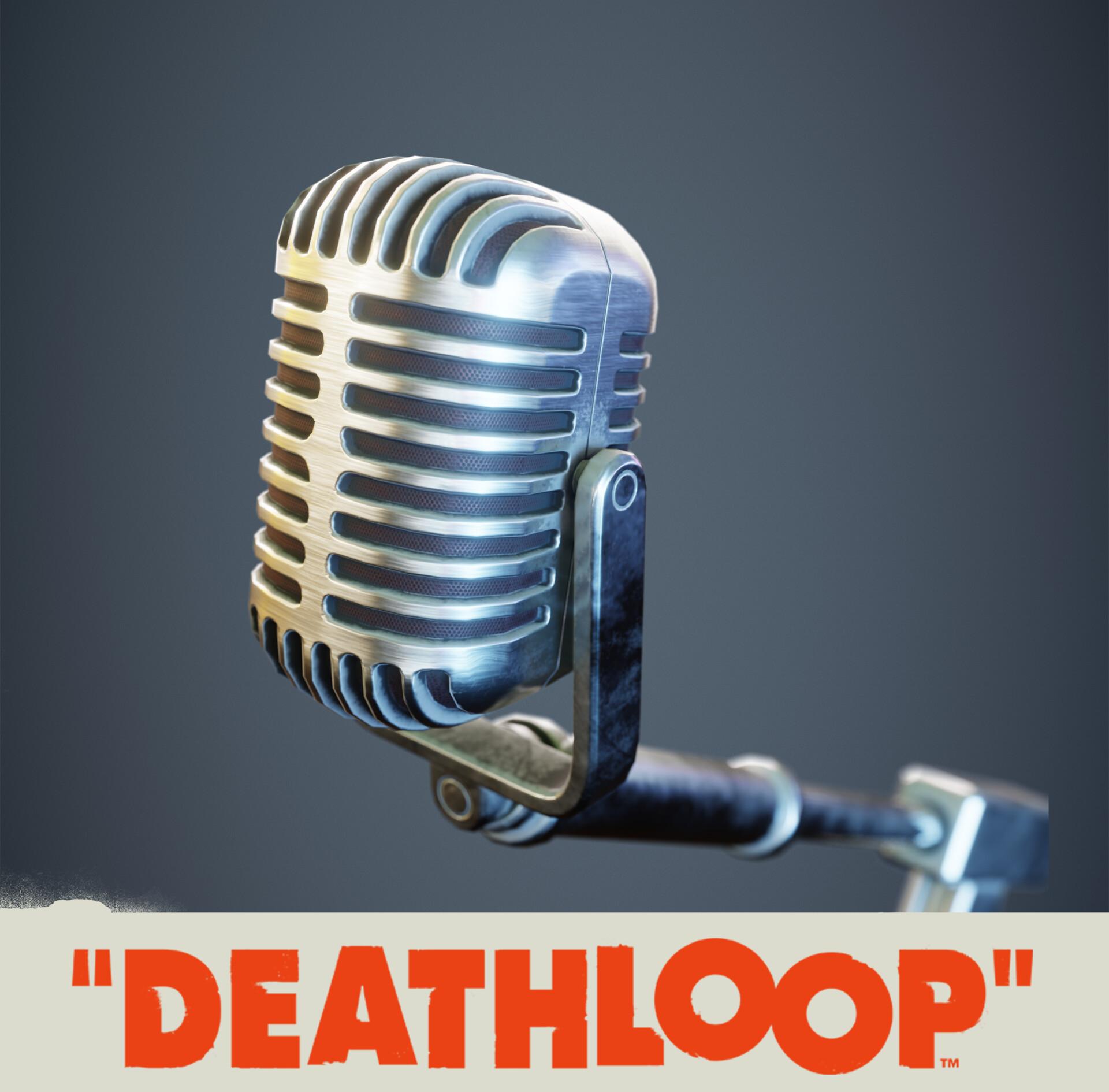 Microphone: Deathloop Prop
