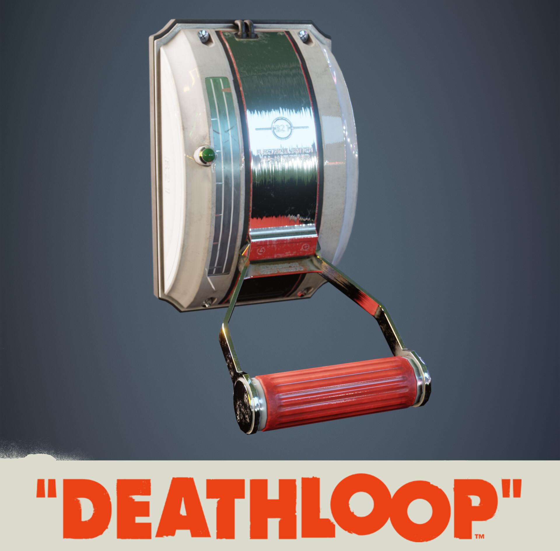 Lever: Deathloop Prop