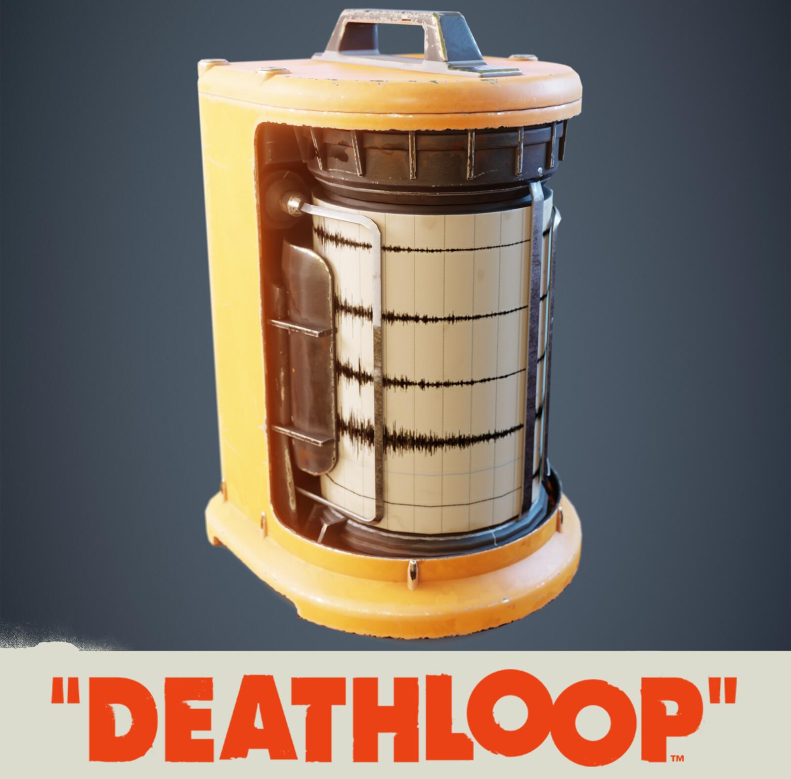 Seismometer: Deathloop Prop