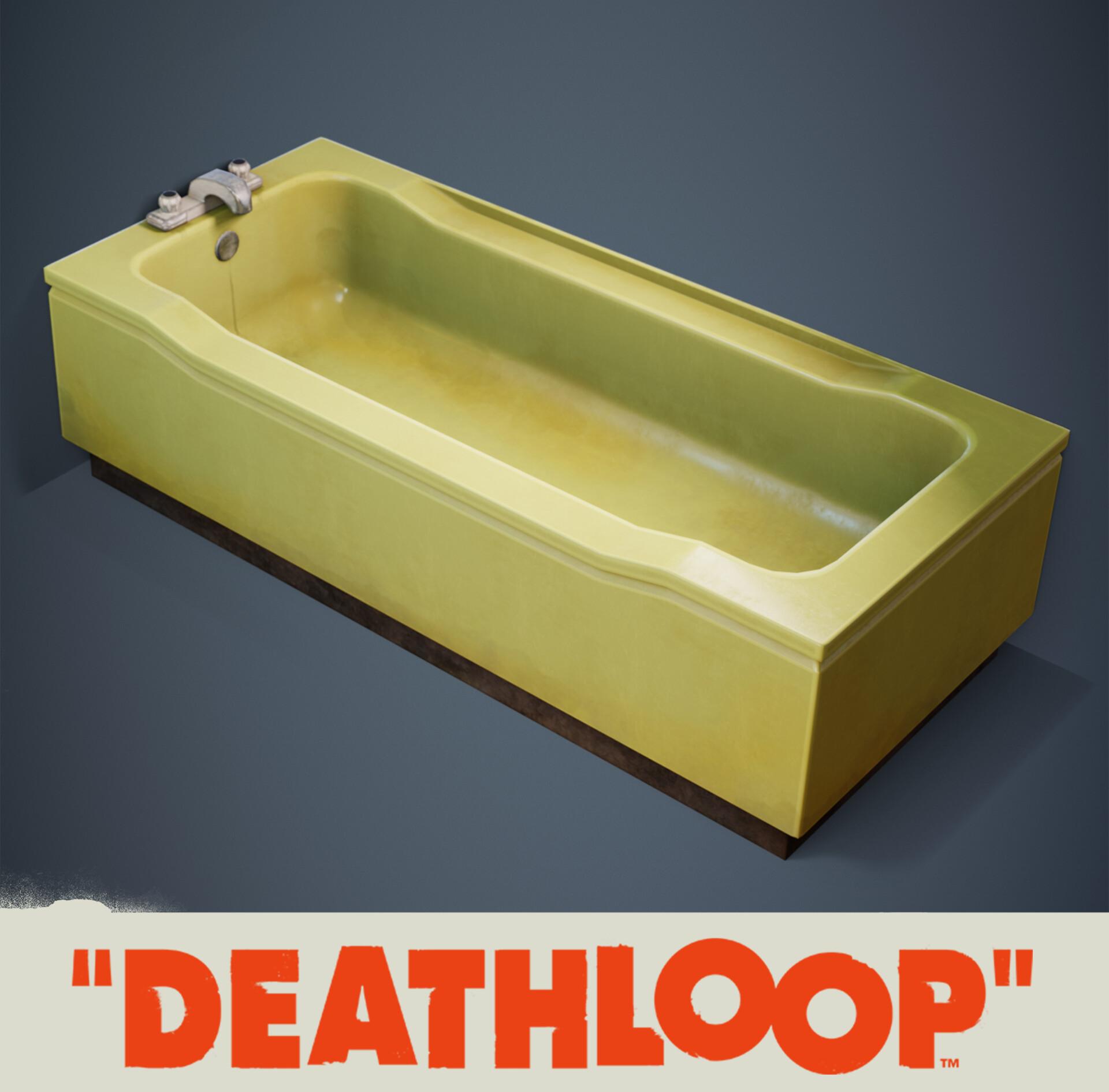 Bathroom: Deathloop Props