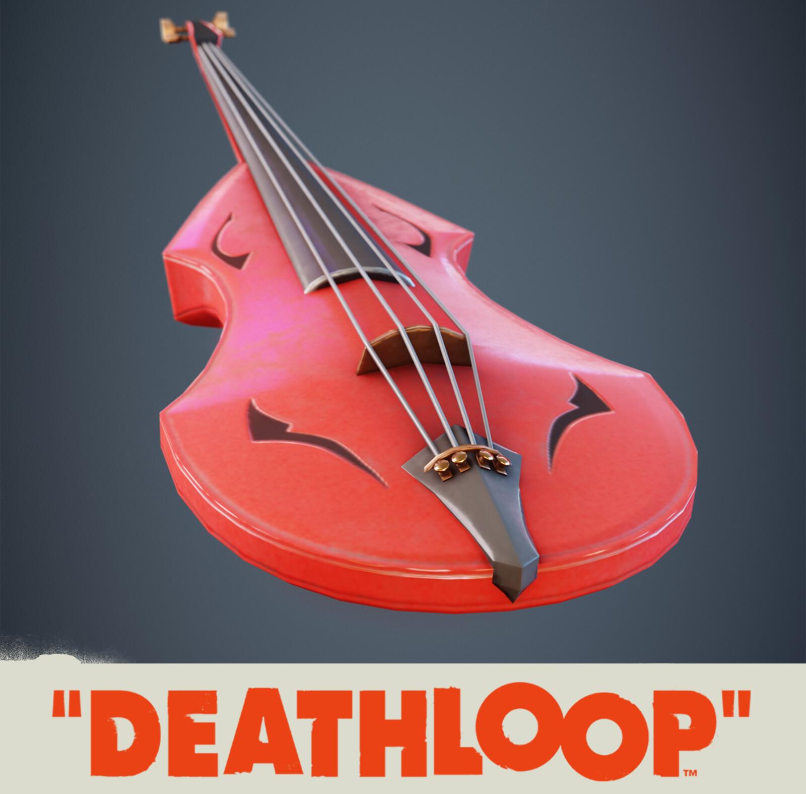 Violin: Deathloop Prop