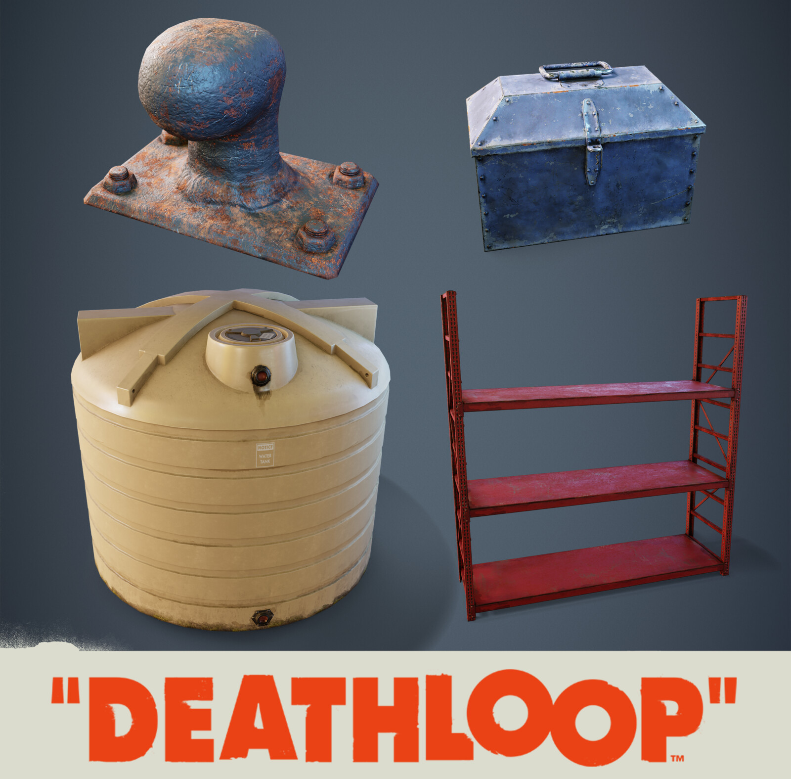 Industrial: Deathloop Props