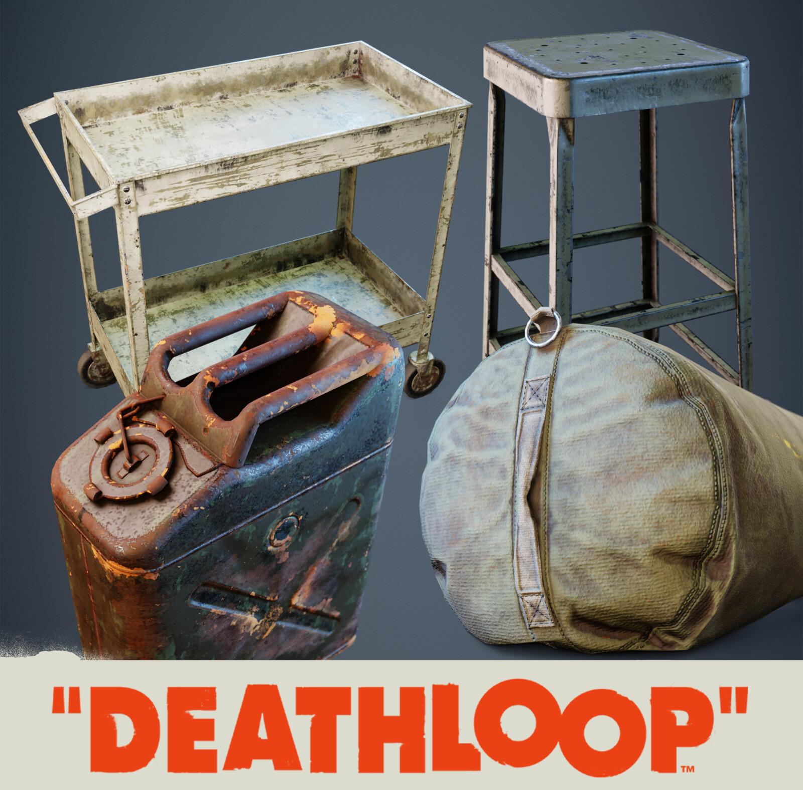 Military: Deathloop Props