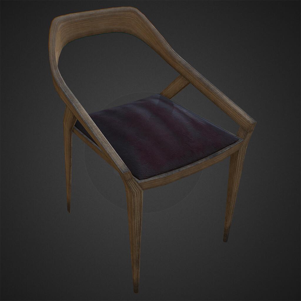 Dirty Antelope Chair