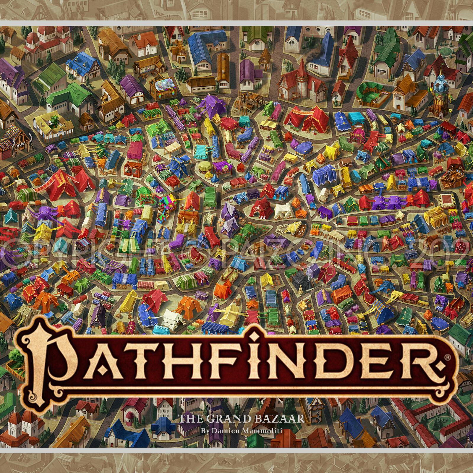 Pathfinder - The Grand Bazaar Map
