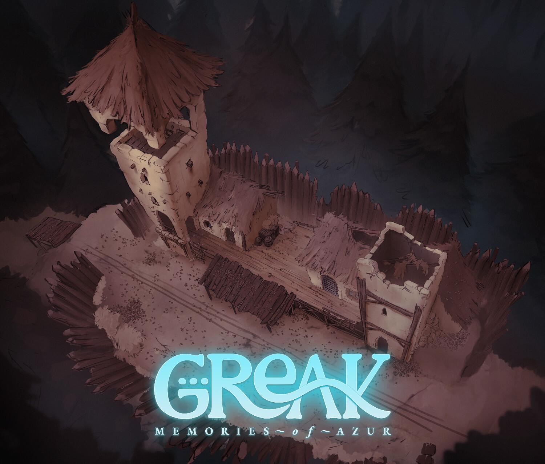 Greak Memories of Azur Backgrounds