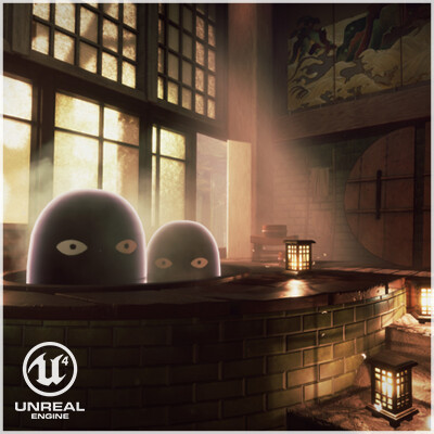 Bath House- 'Feudal Japan: The Shogunate'.