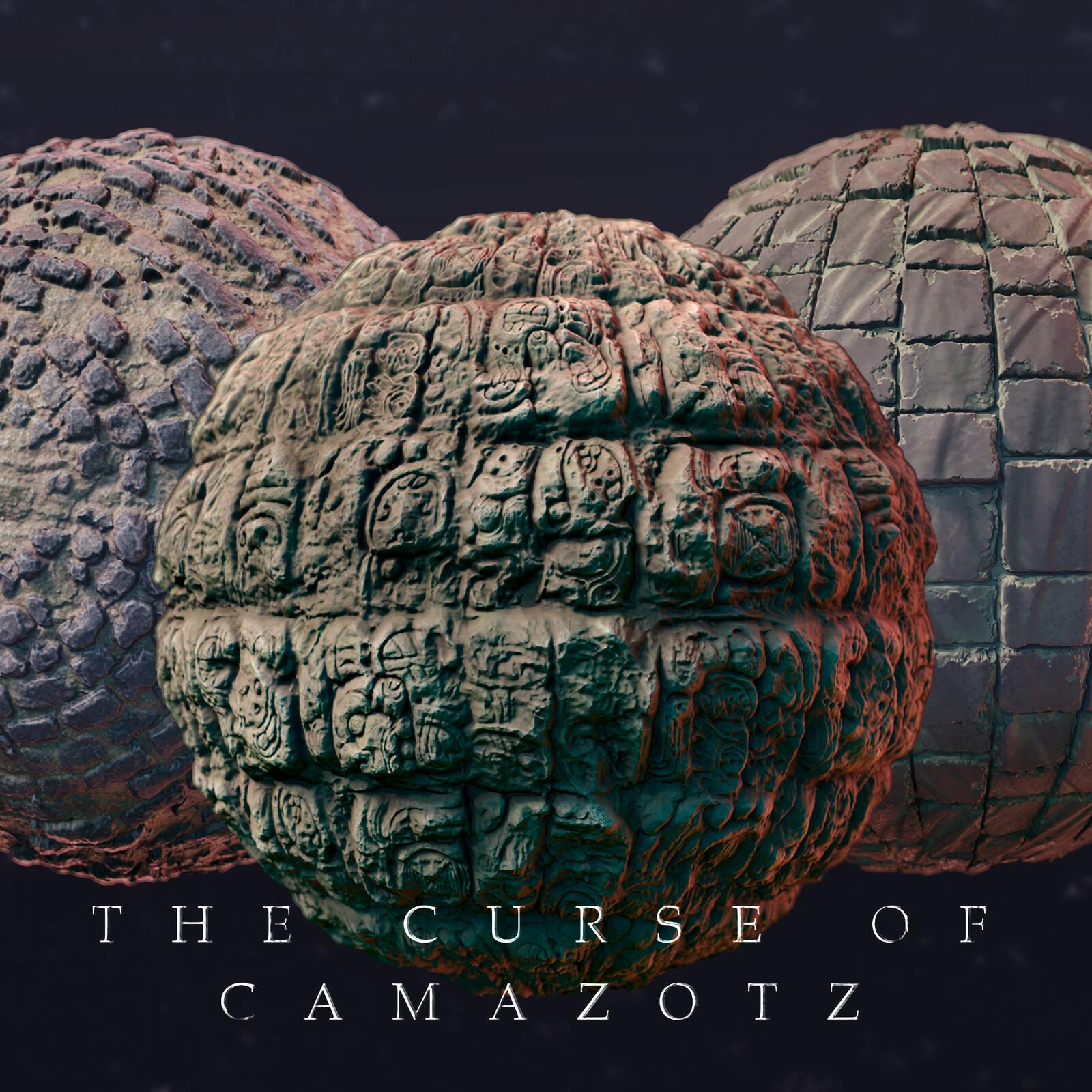 The Curse of Camazots - Materials