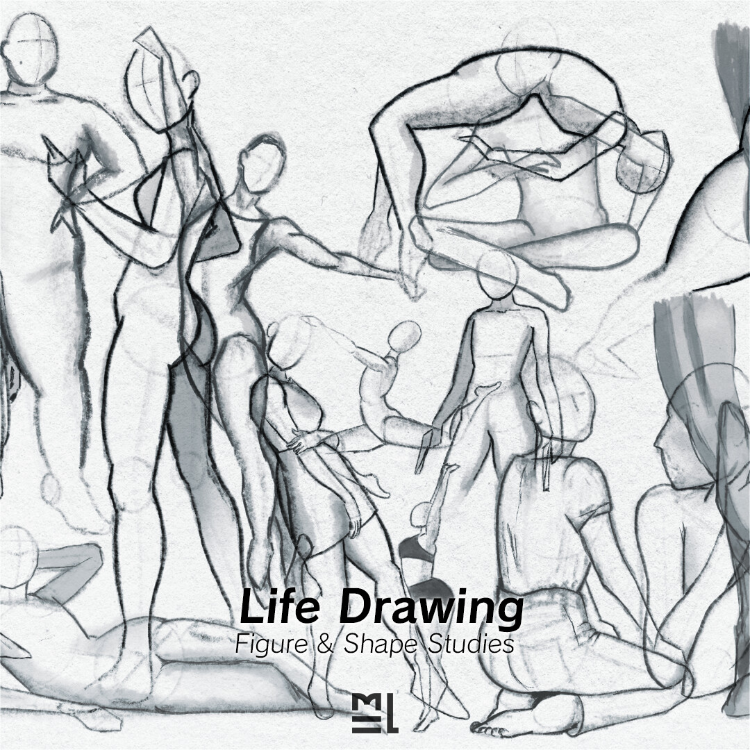 Drawing Studies - Life Drawing Exercise