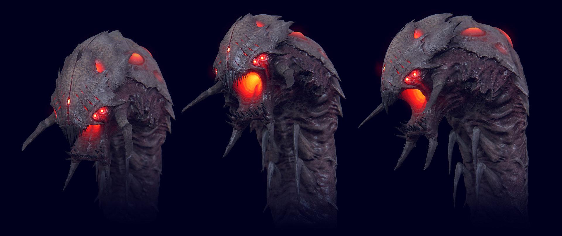Artstation Kraken Alien Call Of Duty Ghosts Extinction Mode Christopher George