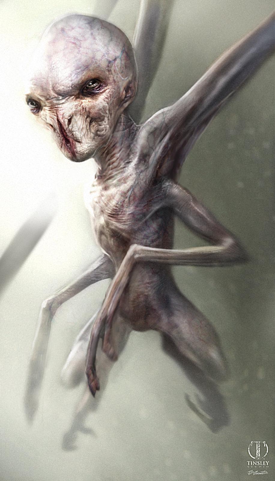 American Horror Story Asylum Alien Design