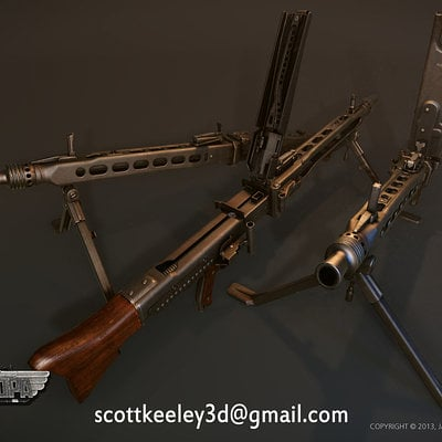 Scottkeeley mg42 3