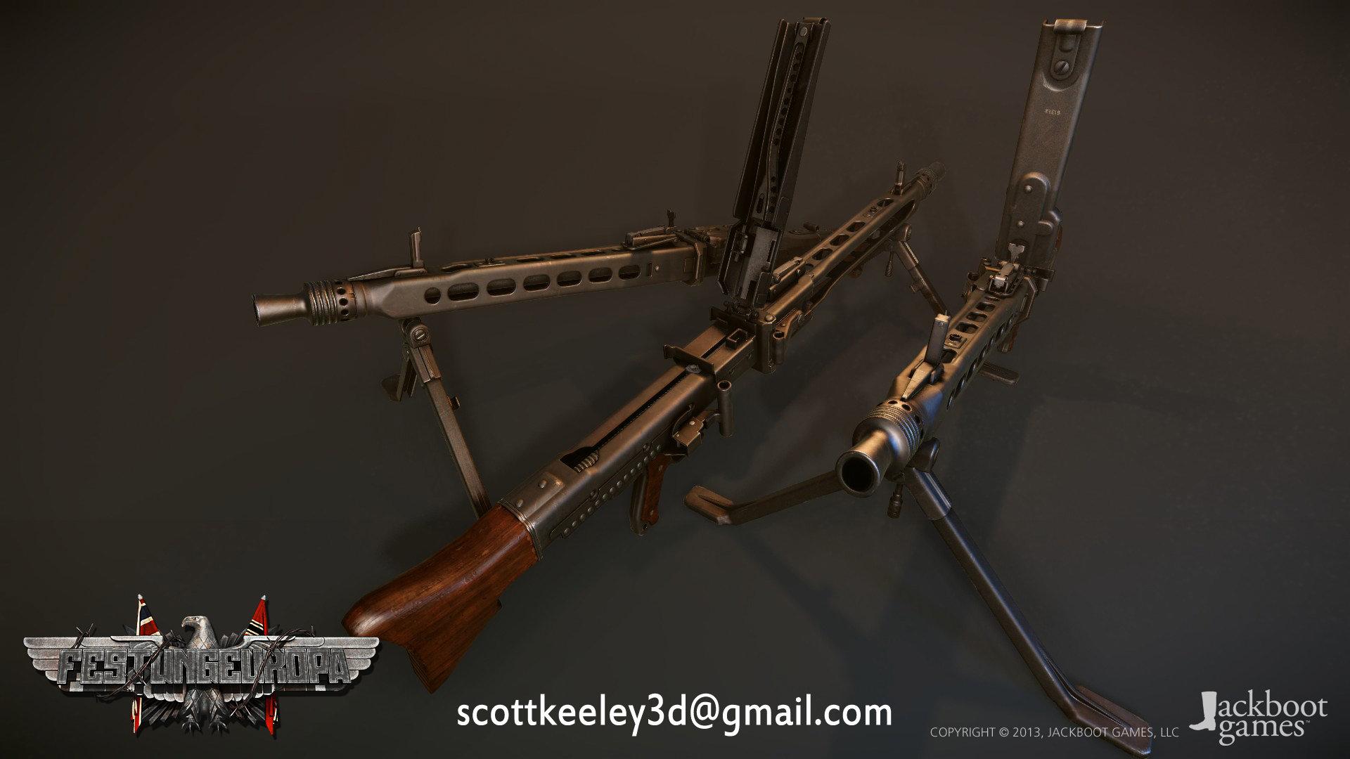 Scottkeeley mg42 3