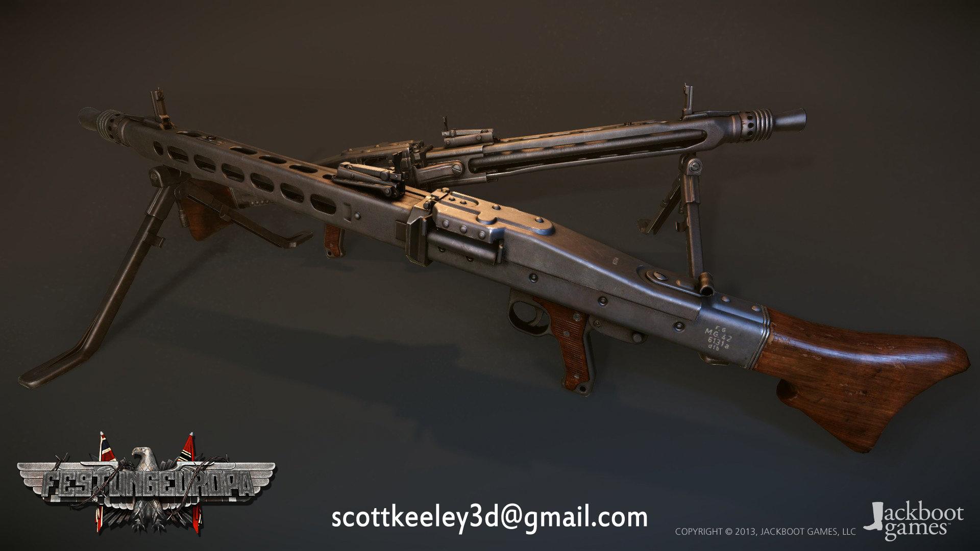 Scottkeeley mg42 2